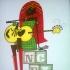 OG Neko Casesean 175marker comp (comes framed)11x17GUYBUR-nekocase-OG