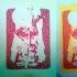 Vampire Weekend 08 (process prints)