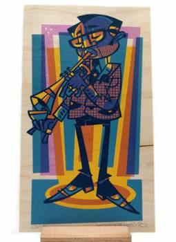 wood-trumpet