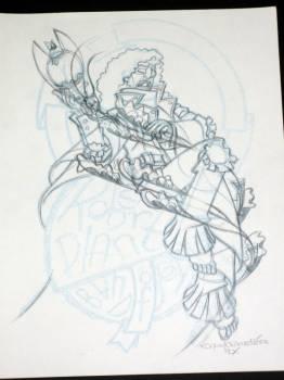 OG sketch Robert Plant