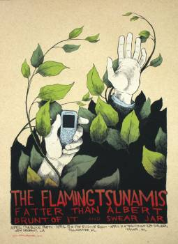 The Flaming Tsunamis