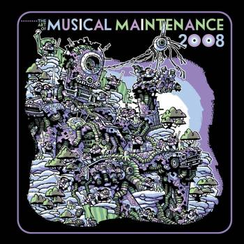 art of musical maintenance rock poster book