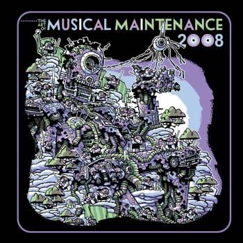 art of musical maintenance rock poster book
