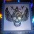 skull stamps 4 foil
