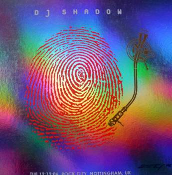 dj shadow foil hand