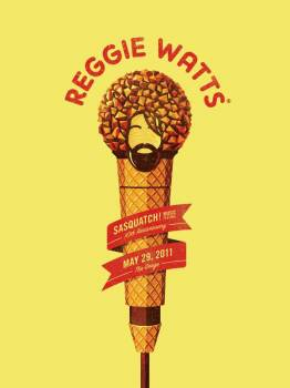 Reggie Watts - Yellow Color Variant