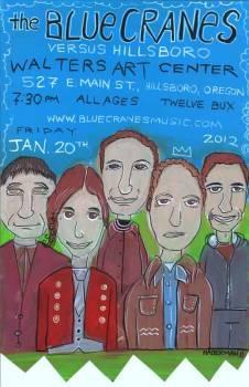 Blue Cranes Vs. Hillsboro