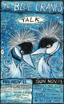 The Blue Cranes Talk!!!