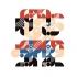 Art print Mario large