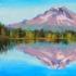 """Trillium Lake, Mt.Hood"""