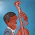 Portrait of a Musician (inspired by Thomas Hart Benton)