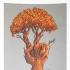 Peace Tree, Grey/Brown