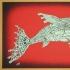 Robot Fish, Ochre/Red