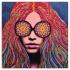 Girl With Kaleidescope Eyes (blotter paper)