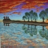 10,000 Lakes art print on canvas