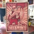 Melvins San Diego Unreleased Wood (edition of 3)