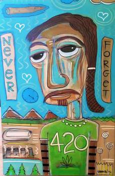 never forget 420