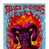 Alice in Chains- San Diego poster (blue background)