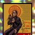 Mark Lanegan- European tour poster holographic foil