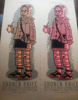 Shonen Knife chipboard variant